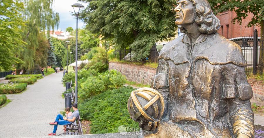 Pomnik Mikołaja Kopernika w Olsztynie - zdjęcie
