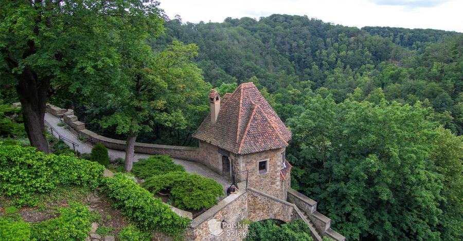 Baszta Prochowa na zamku Książ - zdjęcie