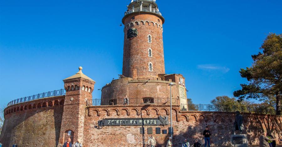 Latarnia morska w Kołobrzegu - zdjęcie