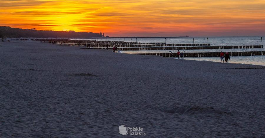 Plaża w Kołobrzegu - zdjęcie