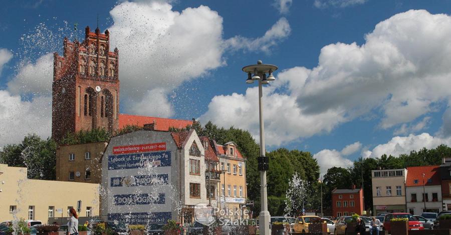 Plac Pokoju w Lęborku - zdjęcie