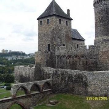 Zamek w Będzinie i Pałac Schoena w Sosnowcu