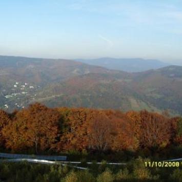 Jesień w Ustroniu - zdjęcie