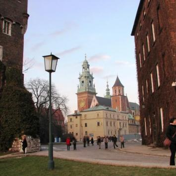 Zamek Królewski na Wawelu.