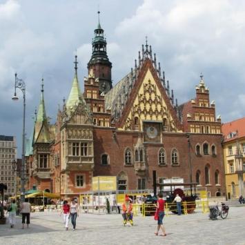 Wrocławskie Stare Miasto i Wyspa Piaskowa.