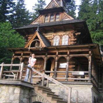 Jaszczurówka- Kościół drewniany