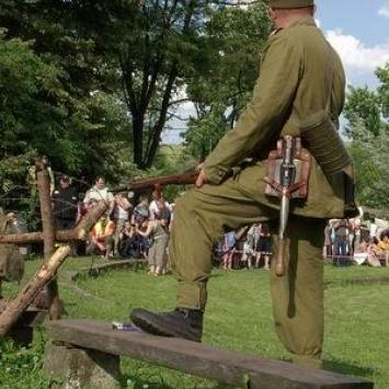 Forty powojenne w Węgierskiej Górce