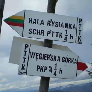 Żabnica - Rysianka- Hala Lipowska - Hala Boracza - Żabnica