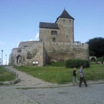 Będzin - ruiny zamku - zdjęcie