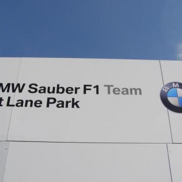 BMW Sauber F1 Pit Lane Park - zdjęcie