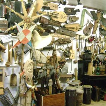 Galeria instrumentów folkowych - zdjęcie