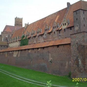 Malbork zamek - zdjęcie