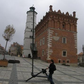 Jesienny Sandomierz - zdjęcie