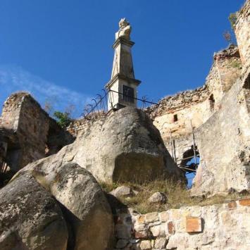 Odrzykoń - z wizytą na zamku Kamieniec