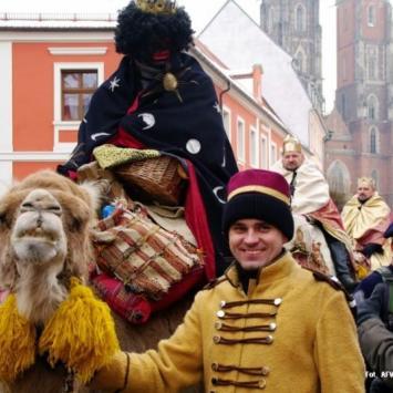 Pierwszy Wrocławski Orszak Trzech Króli - zdjęcie