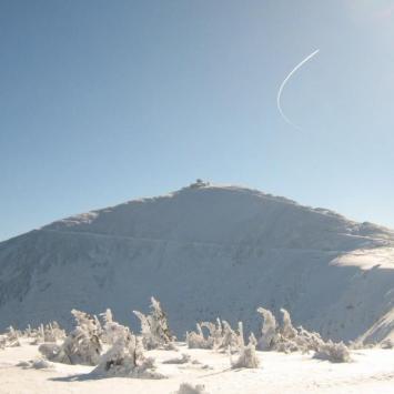 Karkonosze zimową porą;) Ferie 2008