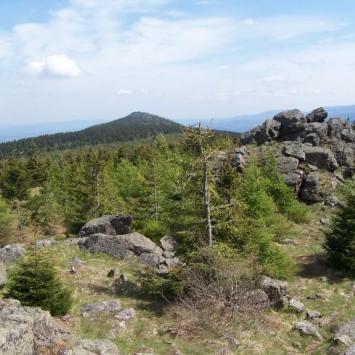 Piesza wycieczka wzdłuż Wysokiego Grzbietu - zdjęcie