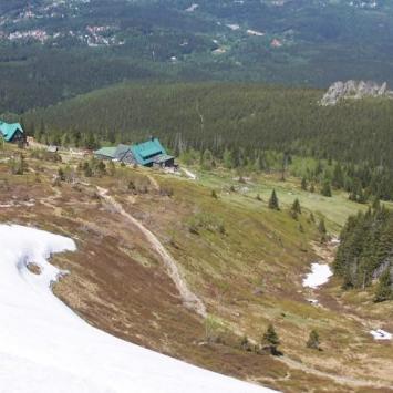 Pod Łabskim Szczytem i Śnieżne Kotły - zdjęcie
