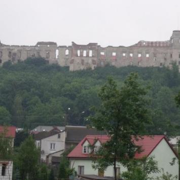 Janowiec miasteczko nad Wisłą.