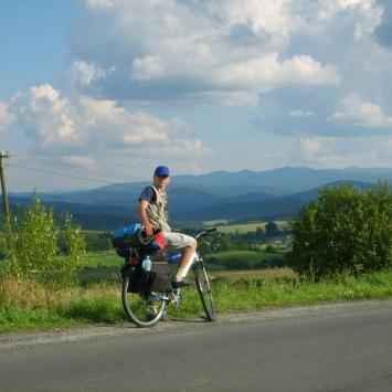 rowerem w Bieszczady - zdjęcie