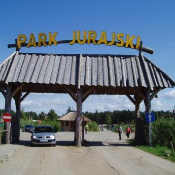 Łeba,Nowęcin,Park Jurajski , Danusia