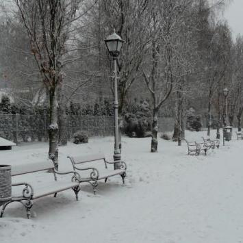 Zimowa Rabka Zdrój  - zdjęcie