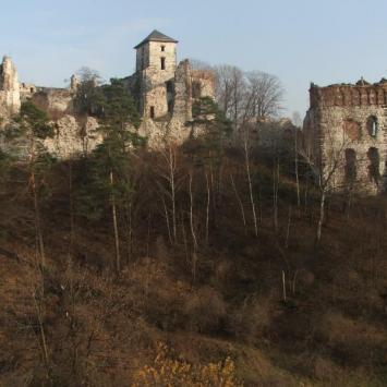 Rudno - zamek Tęczyn