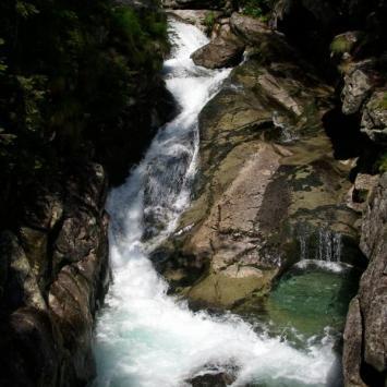 Wodospady Zimnej Wody - zdjęcie
