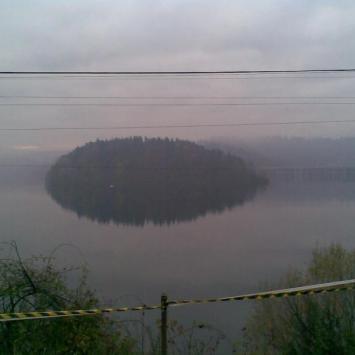 Siedlęcin , Perła Zachodu, Zapora w Pilichowicach