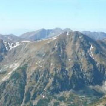 Na Bystrą - najwyższy szczyt Tatr Zachodnich - zdjęcie
