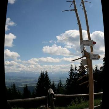 Turbacz z widokiem na Tatry - zdjęcie