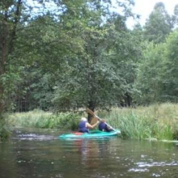 Spływ Brdą:  Pustowo - Garbaty Mostek
