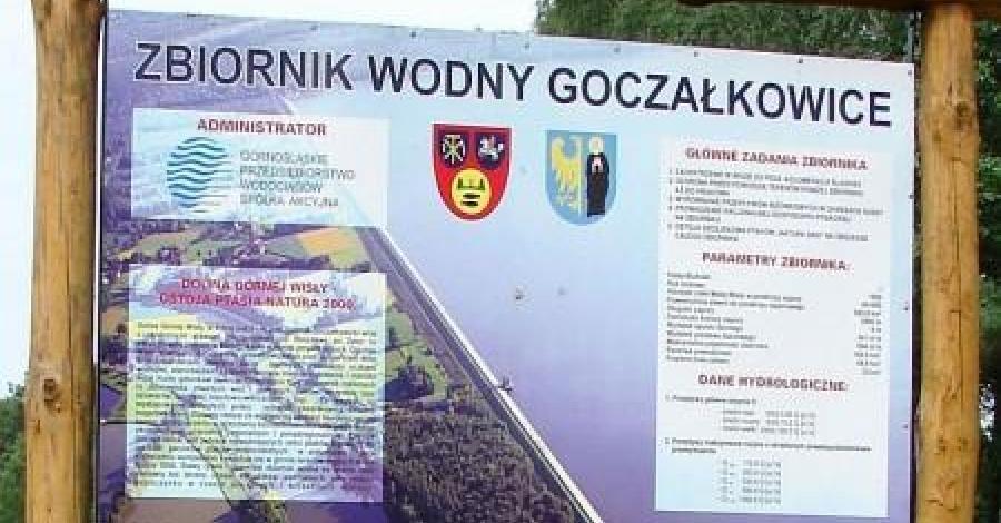 Spacer po zaporze w Goczałkowicach i lody w Pszczynie - zdjęcie