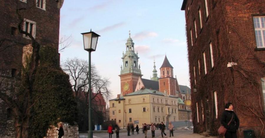 Zamek Królewski na Wawelu. - zdjęcie