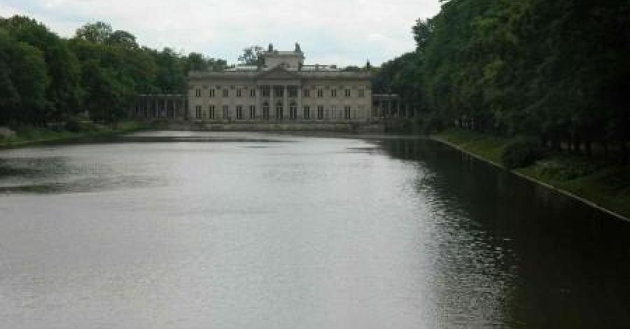 Warszawa - Łazienki królewskie - zdjęcie