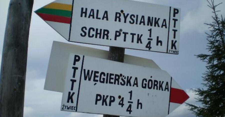 Żabnica - Rysianka- Hala Lipowska - Hala Boracza - Żabnica - zdjęcie