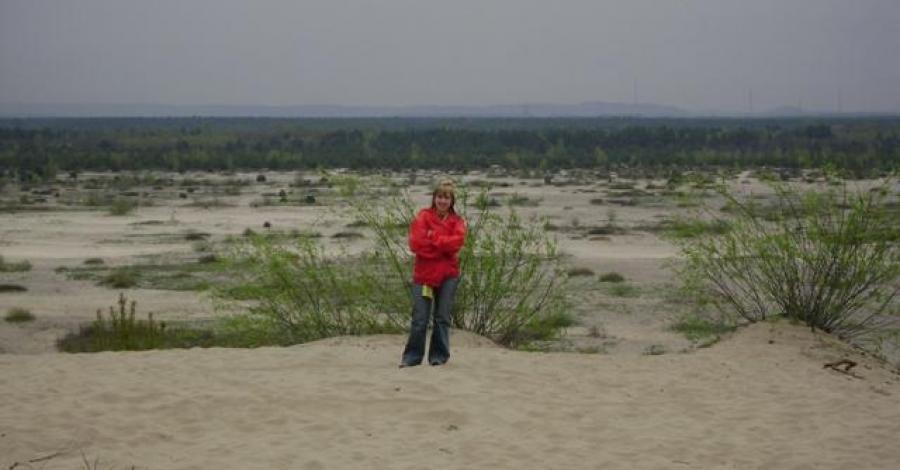 Polska pustynia - zdjęcie