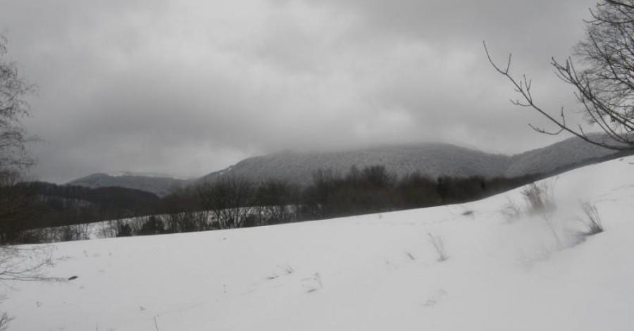 Zimowa połonina - zdjęcie