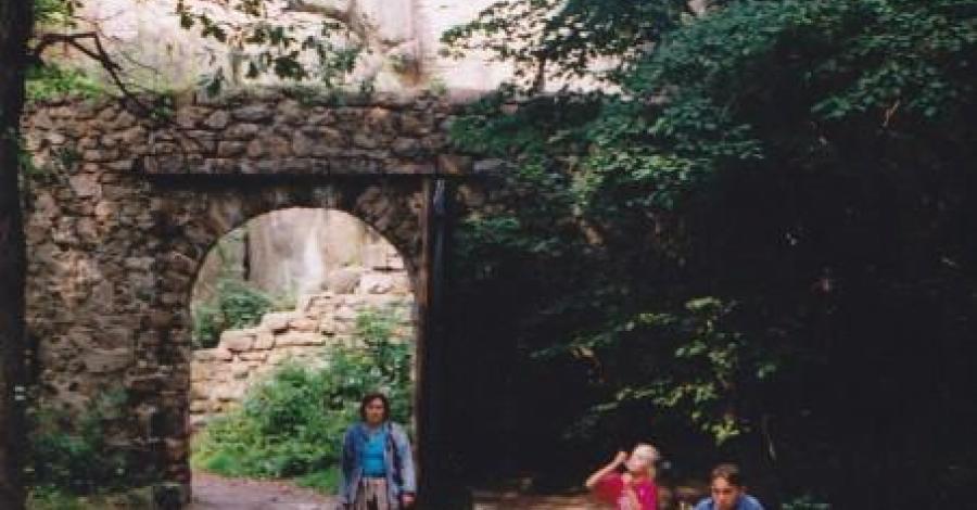 Zamek Bolczów - ruiny - zdjęcie