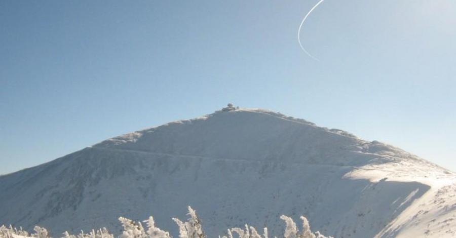 Karkonosze zimową porą;) Ferie 2008 - zdjęcie