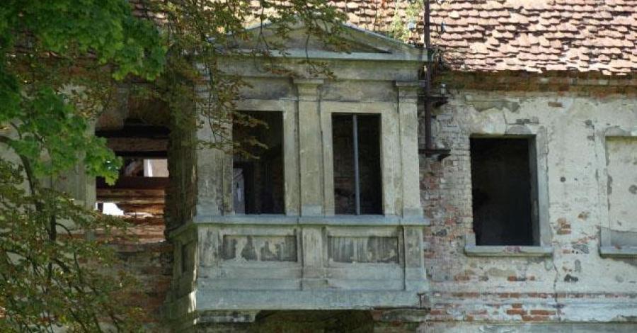 Pałace w ruinie (okolice Zielonej Góry) - zdjęcie