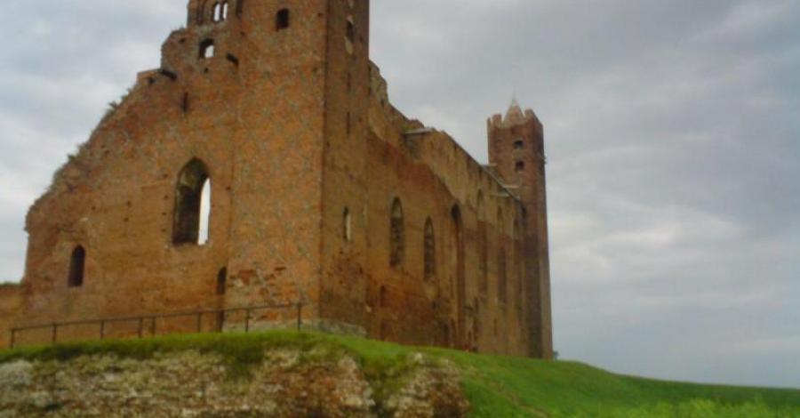 zamek krzyżacki Radzyń Chełmiński - zdjęcie