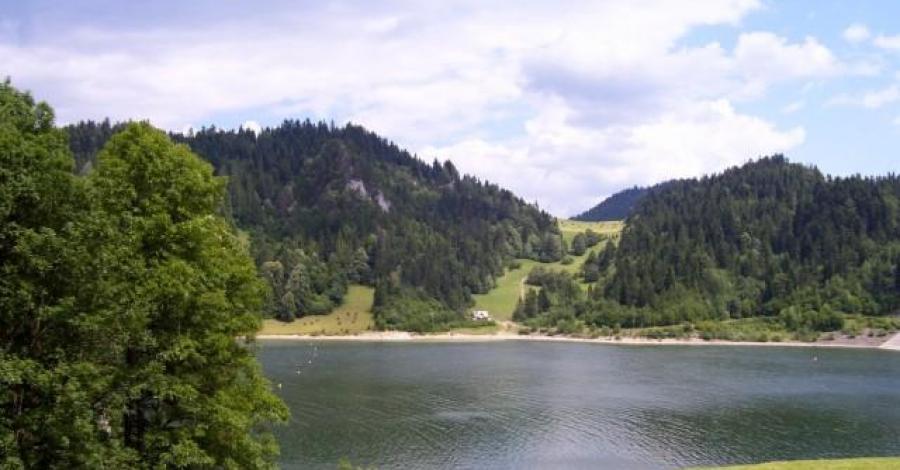 Jezioro Czorsztyńskie - 13.07.2007 - zdjęcie
