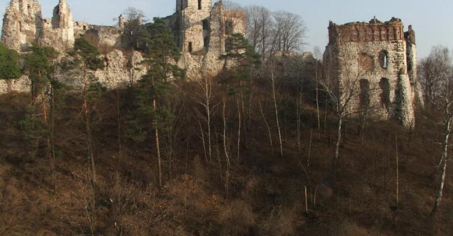 Rudno - zamek Tęczyn - zdjęcie