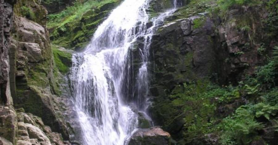 Przy wodospadzie Kamieńczyka - zdjęcie