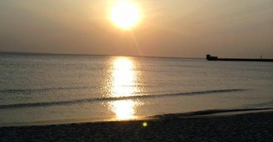 Plażą Półwyspu Helskiego - zdjęcie