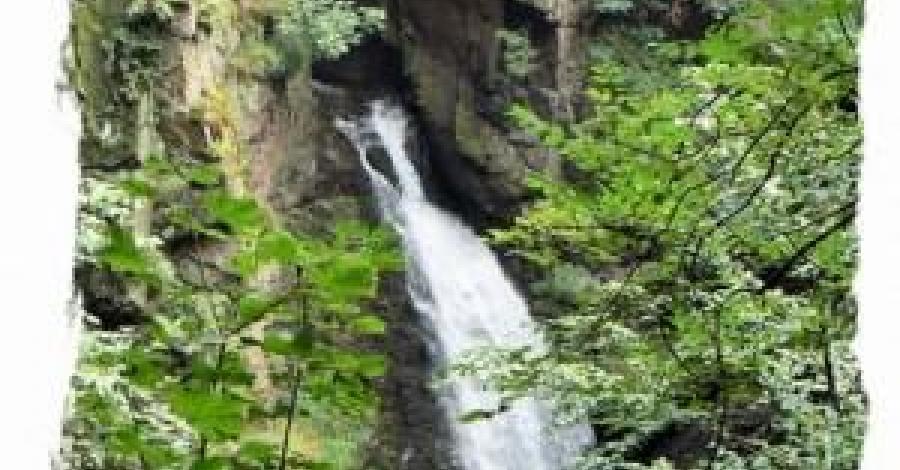 Międzygórze - Ogród Bajek i wodospad Wilczki
