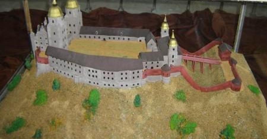 Zamek w Toszku.