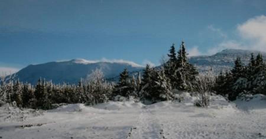 Babia Góra zimą - zdjęcie