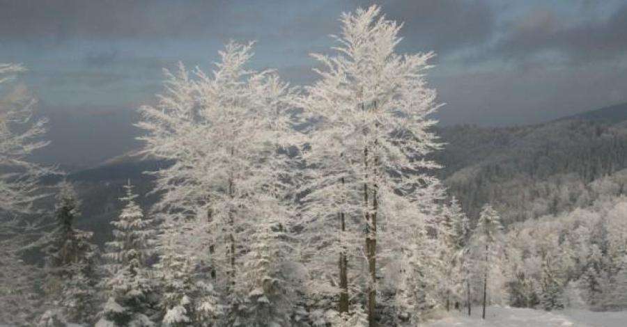 Beskid Mały zimą - zdjęcie